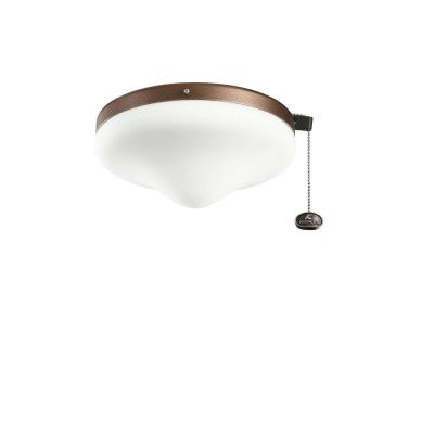 Kichler Lighting 338050WCP Accessory - Two Light Outdoor Ceiling Fan Kit