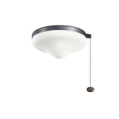 Kichler Lighting 338050WSP Accessory - Two Light Outdoor Ceiling Fan Kit