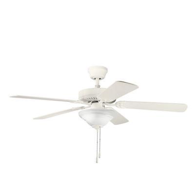 "Kichler Lighting 339220SNW Sterling Manor Select - 52"" Ceiling Fan"