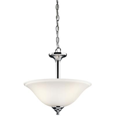 Kichler Lighting 3694CHW Wynberg - Two Light Convertible Semi-Flush Mount