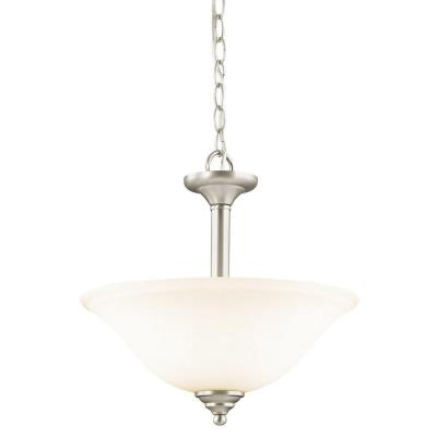 Kichler Lighting 3694NI Wynberg - Two Light Convertible Semi-Flush Mount
