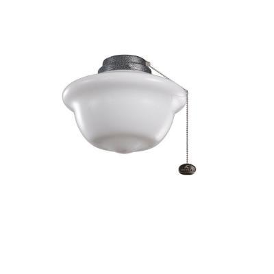Kichler Lighting 380904WSP School House - One Light Outdoor Ceiling Fan Kit