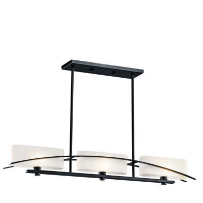 Kichler Lighting 42017 Suspension - Three Light Linear Chandelier