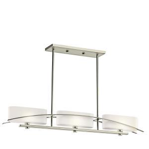 Suspension - Three Light Linear Chandelier