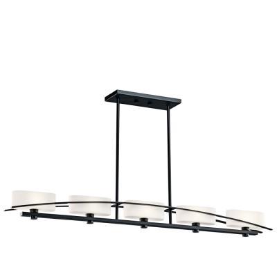 Kichler Lighting 42018 Suspension - Five Light Linear Chandelier