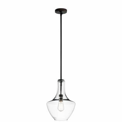 Kichler Lighting 42141OZCLR Everly - One Light Pendant