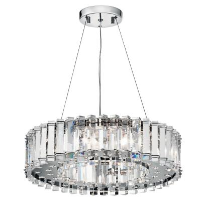 Kichler Lighting 42195CH Crystal Skye - Eight Light Pendant