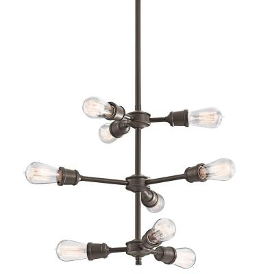 Kichler Lighting 42257OZ Lucien - Nine Light Chandelier