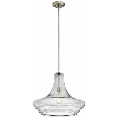 Kichler Lighting 42329NICS Everly - One Light Pendant