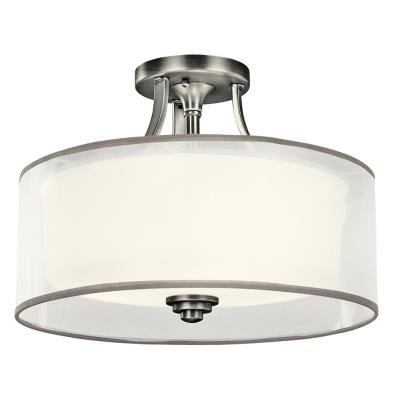 Kichler Lighting 42386 Lacey - Three Light Semi-Flush Mount