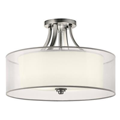 Kichler Lighting 42387AP Lacey - Four Light Semi-Flush Mount
