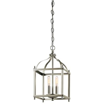 Kichler Lighting 42565NI Larkin - Two Light Cage Foyer