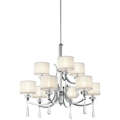 Kichler Lighting 42633CH Parker Point - Nine Light Chandelier