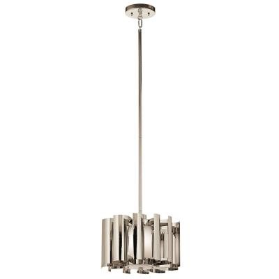 Kichler Lighting 42834PN Ziva - One Light Pendant