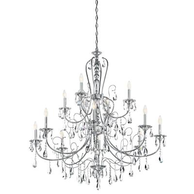 Kichler Lighting 43124CH Jules - Twelve Light Chandelier