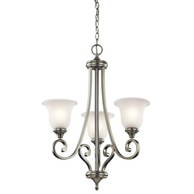 Kichler Lighting 43155NI Monroe - Three Light Chandelier