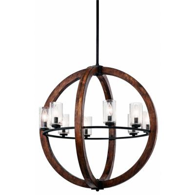 Kichler Lighting 43190AUB Grand Bank - Eight Light Chandelier