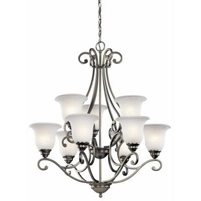 Kichler Lighting 43226NI Camerena - Nine Light Chandelier