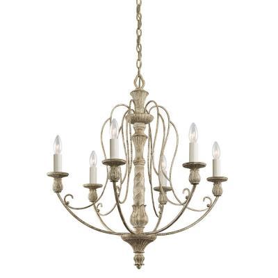 Kichler Lighting 43257DAW Hayman Bay - Six Light Chandelier