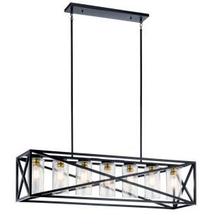 Moorgate - Seven Light Linear Chandelier