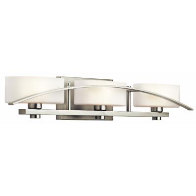 Kichler Lighting 45317NI Three Light Bath Bar