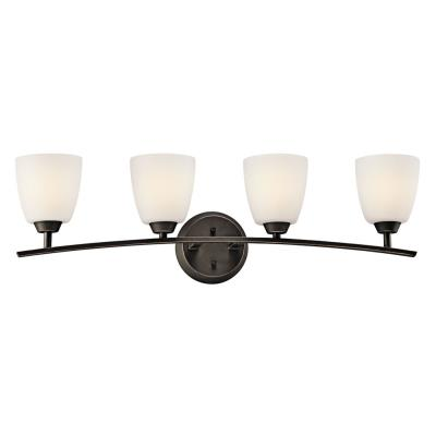 Kichler Lighting 45361OZ Granby - Four Light Bath Bar