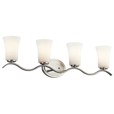 Kichler Lighting 45377NI Armida - Four Light Bath Bar