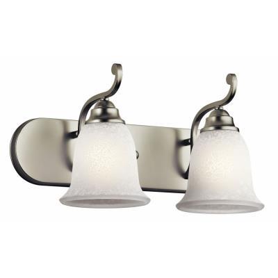 Kichler Lighting 45422NI Camerena - Two Light Bath Vanity