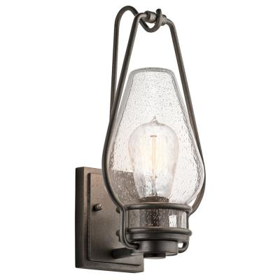 Kichler Lighting 49006AVI Hanford - One Light Medium Outdoor Wall Lantern