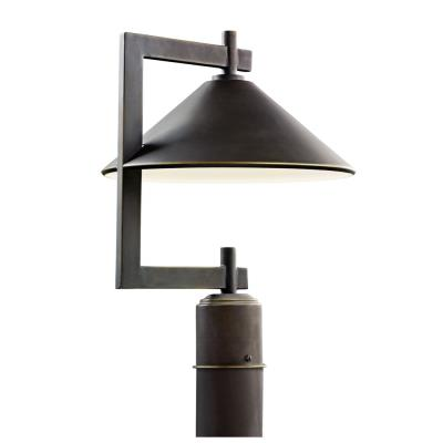 Kichler Lighting 49063OZ Ripley - One Light Outdoor Post Mount