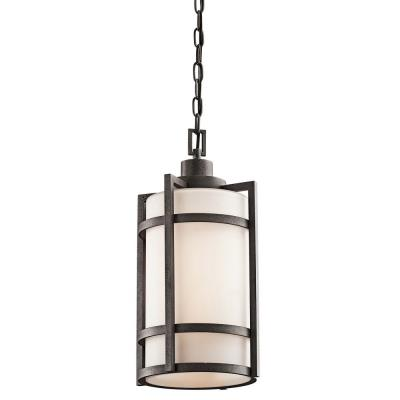 Kichler Lighting 49124AVI Camden - One Light Outdoor Pendant