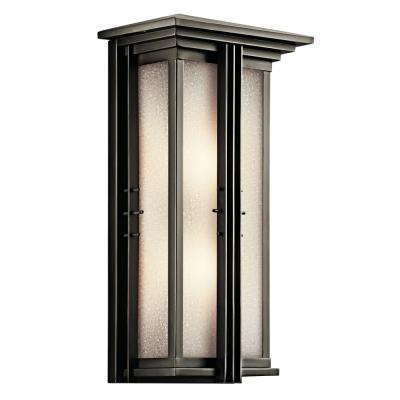 Kichler Lighting 49160OZ Portman - Two Light Outdoor Pocket Wall Mount