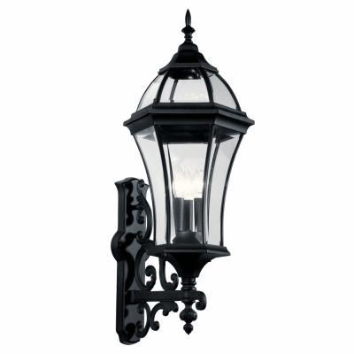 Kichler Lighting 49185BK New Street Usa - Three Light Outdoor Wall Mount
