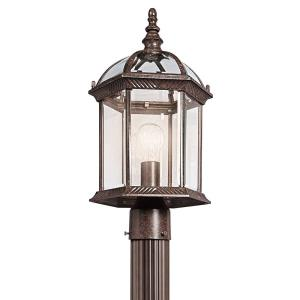 "Barrie - 18"" 9W 1 LED Outdoor Post Lantern"