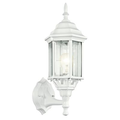Kichler Lighting 49255WH Chesapeake - One Light Outdoor Wall Mount