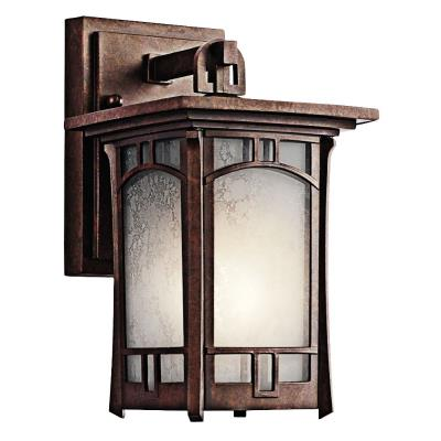Kichler Lighting 49449AGZ Soria - One Light Small Outdoor Wall Mount
