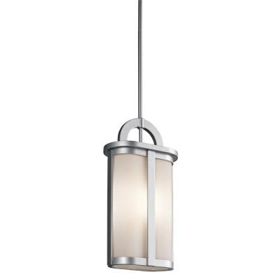 Kichler Lighting 49472PL Rivera - One Light Outdoor Pendant