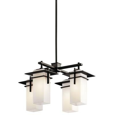 Kichler Lighting 49638OZ Caterham - Four Light Square Chandelier