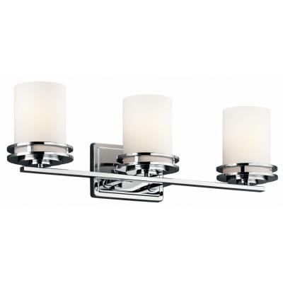 Kichler Lighting 5078CH Hendrik - Three Light Bath Bar