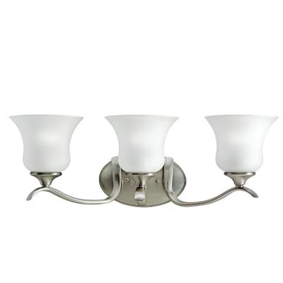 Kichler Lighting 5286NI Wedgeport - Three Light Bath Fixture
