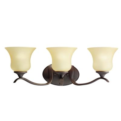 Kichler Lighting 5286OZ Wedgeport - Three Light Bath Fixture