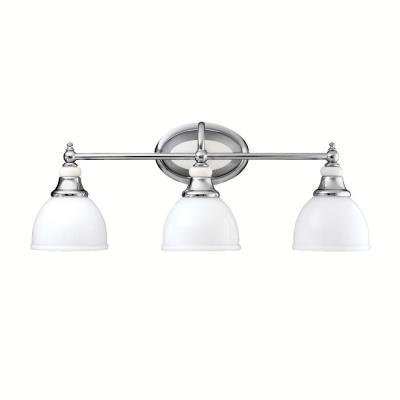 Kichler Lighting 5369CH Pocelona - Three Light Bath Fixture