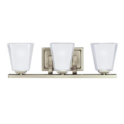 Kichler Lighting 5461AP Urban Ice - Three Light Bath Fixture