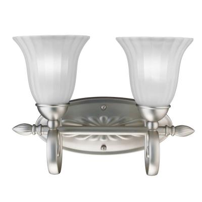 Kichler Lighting 5927NI Willowmore - Two Light Bath Fixture