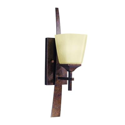 Kichler Lighting 6016MBZ 1 Light Wall Sconce