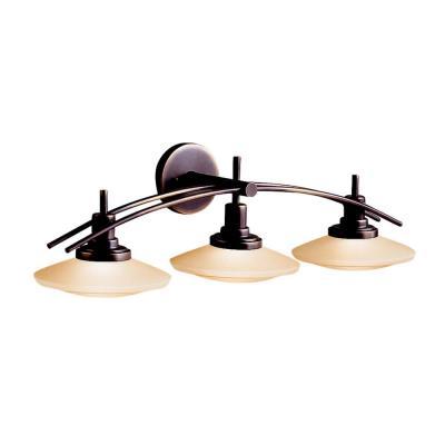 Kichler Lighting 6463OZ Three Light Bath Bar