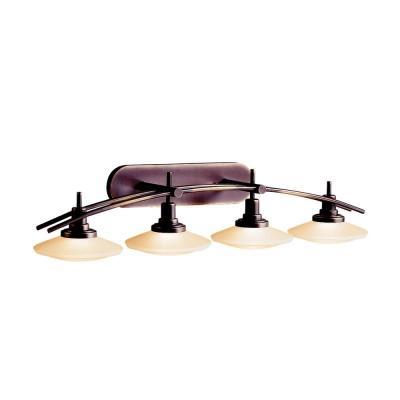 Kichler Lighting 6464OZ Four Light Bath Bar