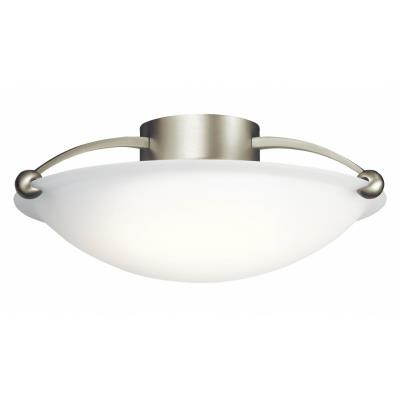 Kichler Lighting 8406NI Three Light Flush Mount