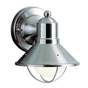 "7"" One Light Outdoor Wall Mount"