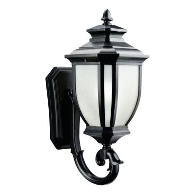 Kichler Lighting 9041BK Salisbury - One Light Outdoor Wall Mount